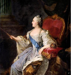 The Empress Catherine the Great, opera super-fan. ( Wikimedia Commons )