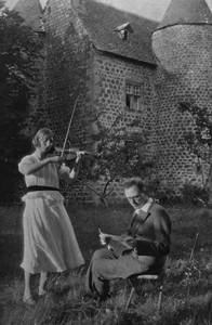 Claire Delbos and Olivier Messiaen