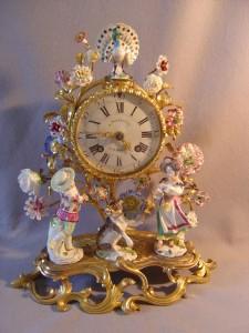 Meissen Clock