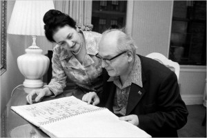 Messiaen with his second wife Yvonne Loriod