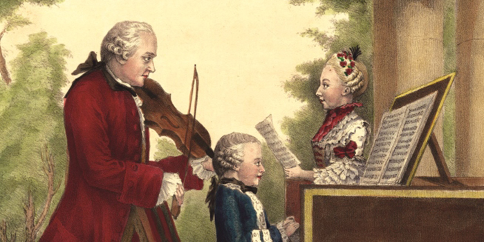 The Dangers of being a Musical Prodigy <br/>Wolfie Mozart and Smallpox