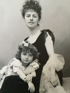 With her daughter
