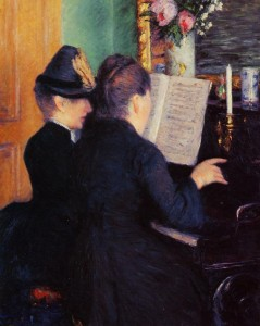 Gustave Caillebotte – The Piano Lesson