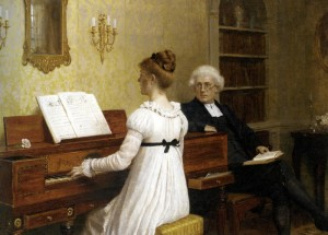 Leighton Edmund Blair - The Piano Lesson