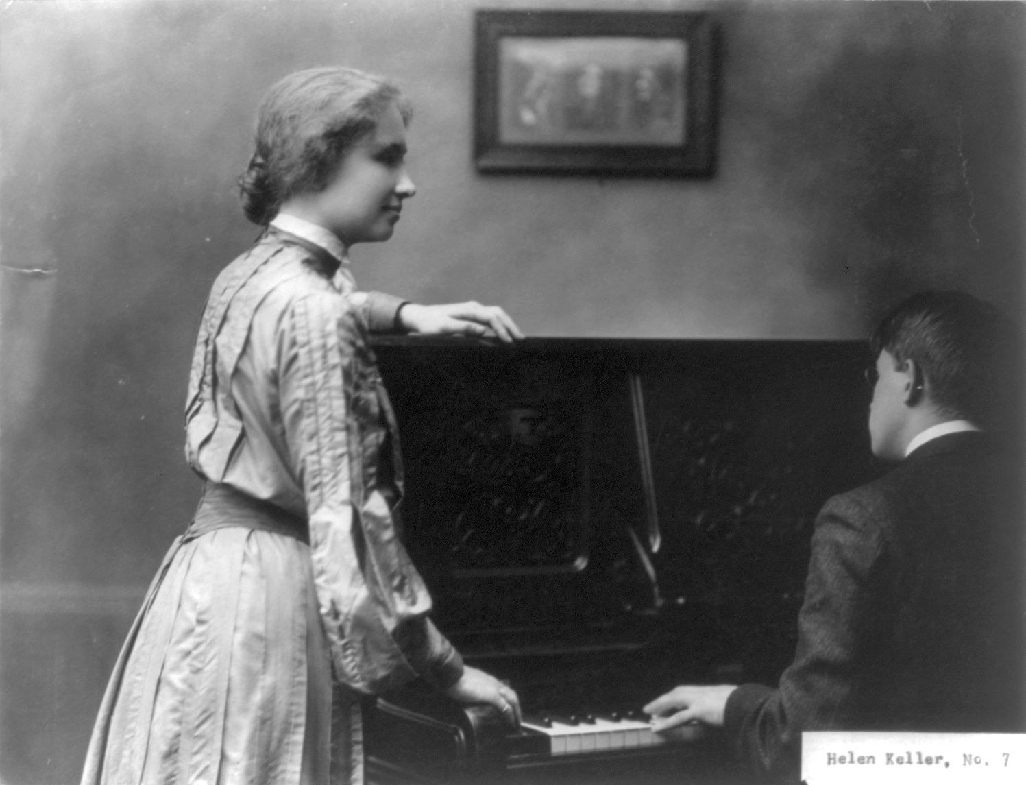 Helen Keller: A Great Lover of Music