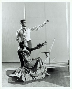 Martha Graham and Stuart Hodes in Appalachian Spring