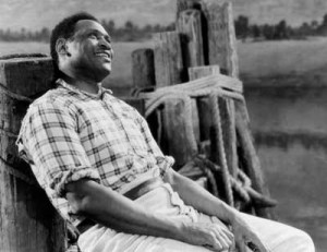 Paul Robeson as Joe in the 1936 production
