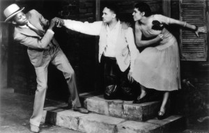 John Bubbles, Todd Duncan and Anne Brown in Porgy and Bess (1935)