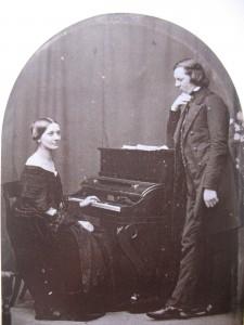 Clara and Robert Schumann