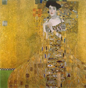 Gustav Klimt's painting - Adele Bloch-Bauer I (1903-1907)