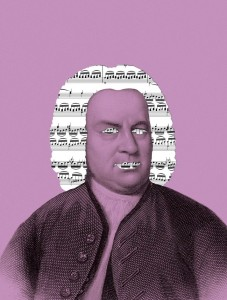 Bach, who obsessively copied out other composers' scores, became an absolute master of his art by never ceasing to be a student of it. Illustration by Matt Dorfman