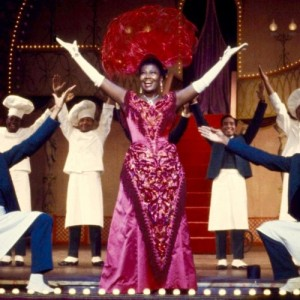 Pearl Bailey in Hello Dolly (1968).