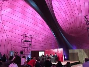 Lucerne Festival Orchestra's press conference at Ark Nova in TokyoCredit:  Rudolph Tang