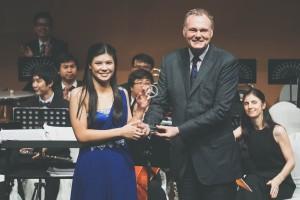 Tsai Yu-Ping's belated awarding momentsCredit: Chiangmai Ginastera International Music Festival