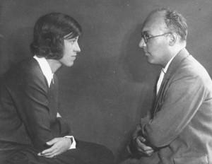 Kurt Weill   and Lotte Lenya