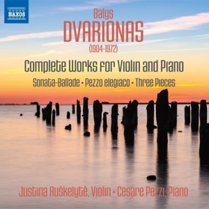 dvarionas complete works for violin and piano