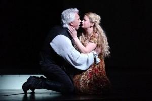 Dmitri Hvorostovsky with Amanda Roocroft in Eugene OneginMARK ELLIDGE/ THE TIMES