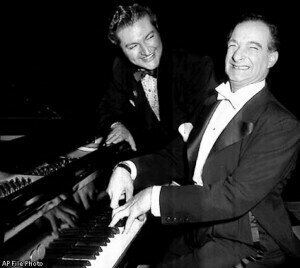 Victor Borge and Liberace