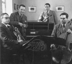 Quatuor Calvet Jean Champeil, Joseph Calvet, Maurice Husson and Manuel RecasensCredit: http://www.rene-gagnaux.ch/