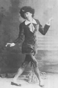 George Grossmith as Bunthorne in Patience, 1881