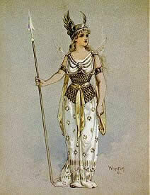 Costume design for the Fairy Queen by Wilhelm