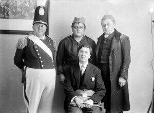 Alban Berg and the Wozzeck cast