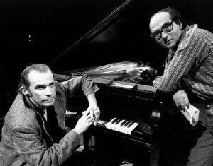 with Glenn Gould - Toronto, February 1974Credit: http://www.brunomonsaingeon.com/