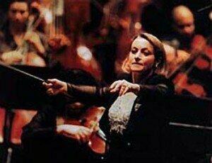 Gisèle Ben-Dor leading the New York Philharmonic