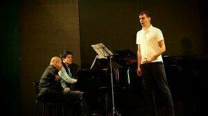 Pawel Konik with Quasthoff coaching