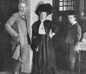 Richard Strauss and Pauline and Franz, 1910