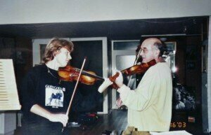 with Valeriy Sokolov - Paris, 2003Credit: http://www.brunomonsaingeon.com/