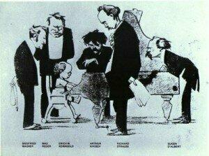 caricature-of-the-wunderkind-korngold-neues-wiener-tagblatt