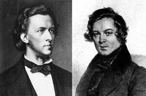 Chopin and Schumann
