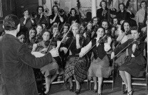 Cleveland Women's Orchestra in their early days