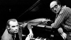 Bruno Monsaingeon and Glenn Gould