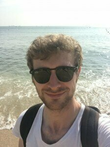 Photos from Oliver's trips last year: Russia, Malaysia (street food), and Hong Kong (Lamma Island beach).