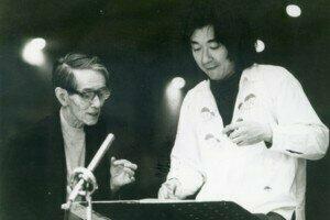 Hideo Saito  and Seiji Ozawa