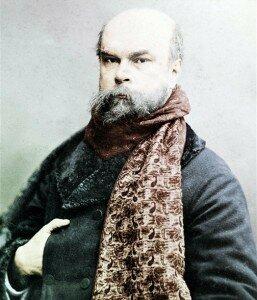 Paul Verlaine (1844-1896), poète français.