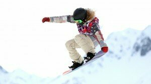 Olympic snowboarder