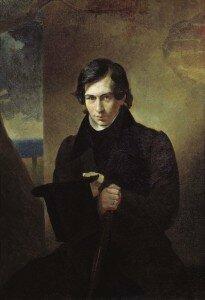Nestor Kukolnik - portrait by Karl Briullov