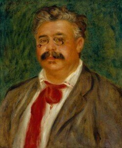 Portrait of Wilhelm Mühlfeld by Pierre Auguste Renoir, 1910 © Southampton City Art Gallery