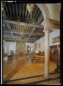 Dumbarton Oaks music room