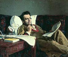 Mikhail Glinka - portrait by Ilya Repin