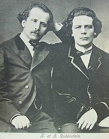 Nikolai  and Anton Rubinstein