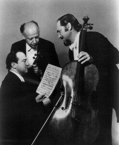 The Beaux Arts Trio piano trio