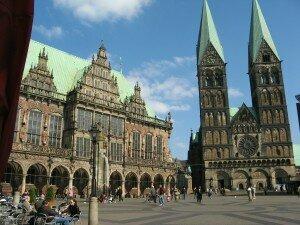 Bremen Cathedral, where the German Requiem was premiered