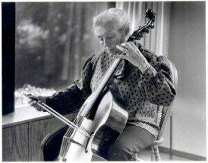 © Eva Heinitz- cellist, gambist and musician extraordinaire by Pamela Roberts