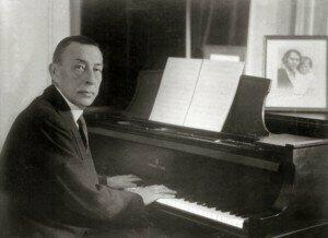 Sergei Rachmaninoff, composer of the Symphonic Dances