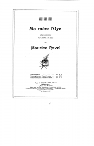Ravel Mother Goose
