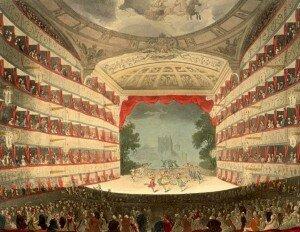 Theatre, Royal Haymarket, where Xerxes was premiered